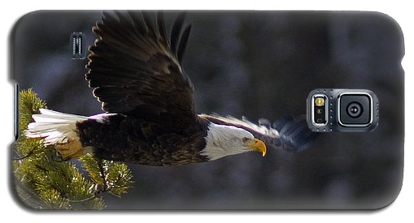 Galaxy S5 Case featuring the photograph Watching The River by J L Woody Wooden