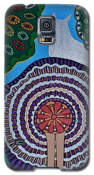 Watching The Show Galaxy S5 Case by Barbara St Jean