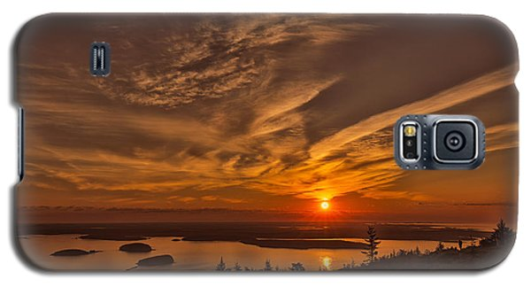 Watching The Sunrise Galaxy S5 Case