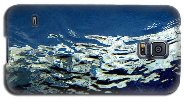 Galaxy S5 Case featuring the photograph Water Abstract 3 by Mary Bedy