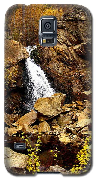 Galaxy S5 Case featuring the photograph Water Always Gets Through by Kathy Bassett