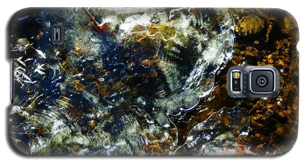 Water And Ice Galaxy S5 Case by Carolyn Cable