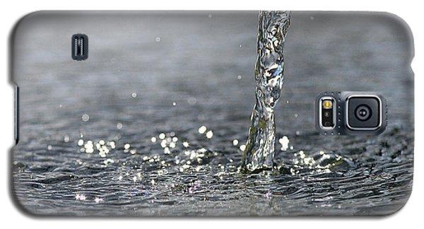 Water Beam Splashing Galaxy S5 Case