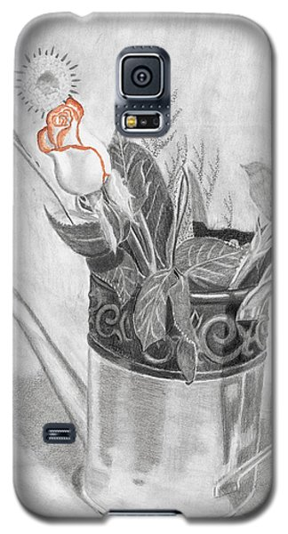 Water Can Bouquet Galaxy S5 Case