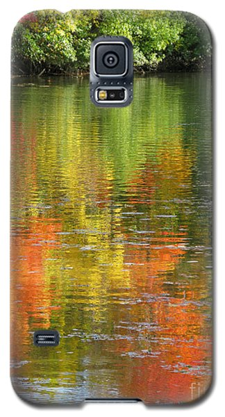 Galaxy S5 Case featuring the photograph Water Colors by Ann Horn