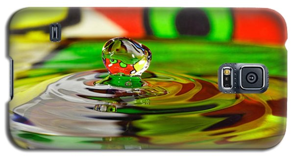 Galaxy S5 Case featuring the photograph Water Drop by Peter Lakomy
