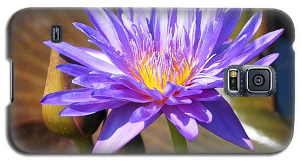 Galaxy S5 Case featuring the photograph Water Flower 1004d by Marty Koch