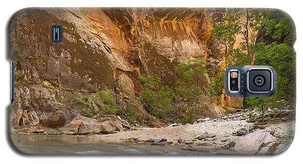Galaxy S5 Case featuring the photograph Water In The Narrows by Bryan Keil