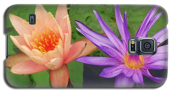Water Lilies 011 Galaxy S5 Case