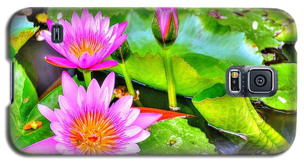 Water Lilies 2 Galaxy S5 Case by Richard Zentner