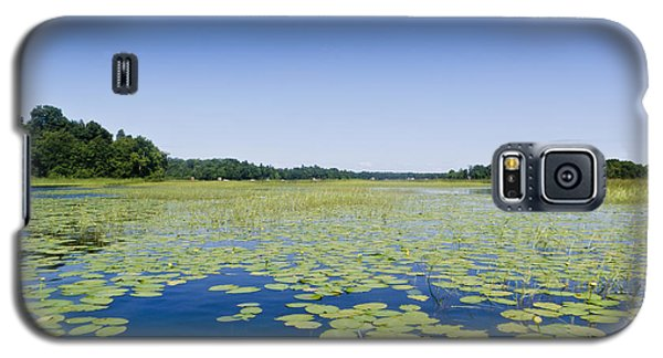 Water Lilies Galaxy S5 Case by Gary Eason