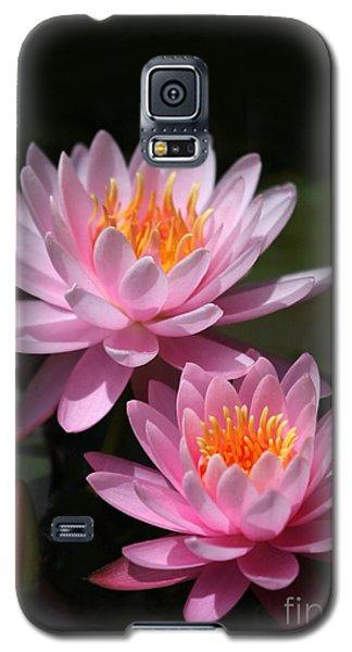 Water Lilies Love The Sun Galaxy S5 Case