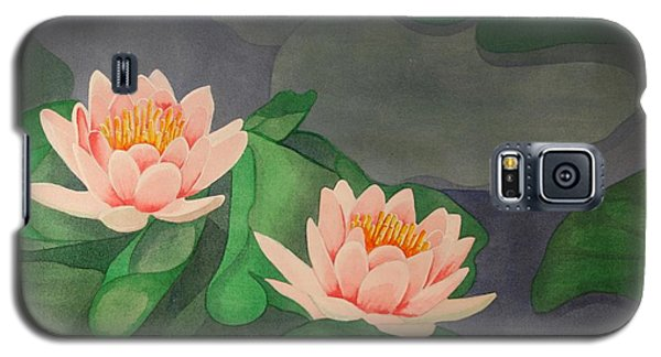 Water Lilies Galaxy S5 Case by Paul Amaranto