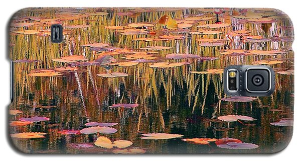 Galaxy S5 Case featuring the photograph Water Lilies Re Do by Chris Anderson