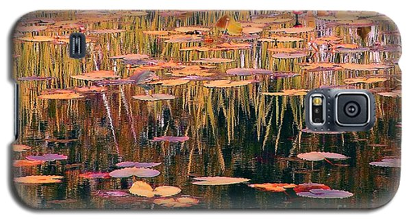 Water Lilies Re Do Galaxy S5 Case by Chris Anderson