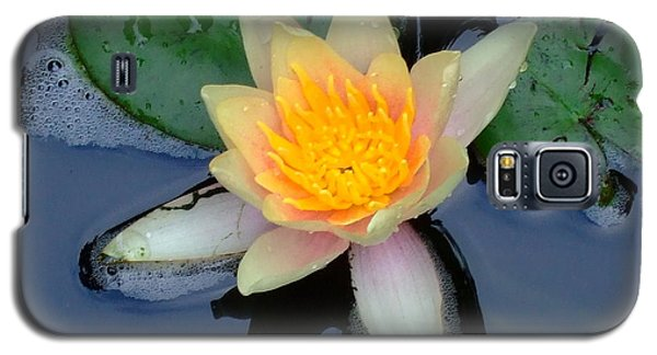 Galaxy S5 Case featuring the photograph Water Lily by Deborah DeLaBarre