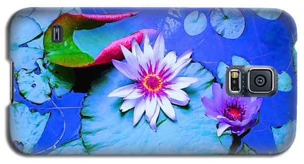 Water Lily I Galaxy S5 Case by Ann Johndro-Collins