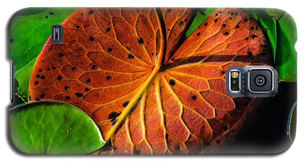 Water Lily Pad Galaxy S5 Case