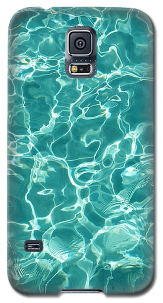 Water Meditation I. Five Elements. Healing With Feng Shui And Color Therapy In Interior Design Galaxy S5 Case by Jenny Rainbow