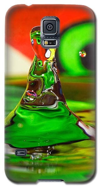 Galaxy S5 Case featuring the photograph Water Mountain by Peter Lakomy