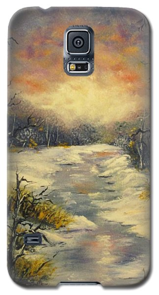 Galaxy S5 Case featuring the painting Water Music  by Megan Walsh