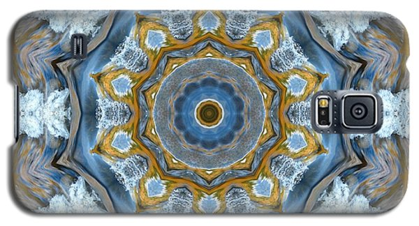 Water Patterns Kaleidoscope Galaxy S5 Case