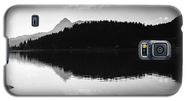 Water Reflection Black And White Galaxy S5 Case