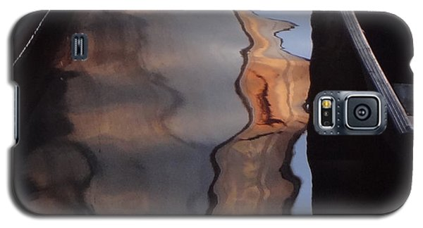 Water Reflections Abstract Galaxy S5 Case by Carol Berning