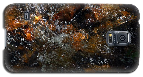 Galaxy S5 Case featuring the photograph Water Rocks by Allen Carroll