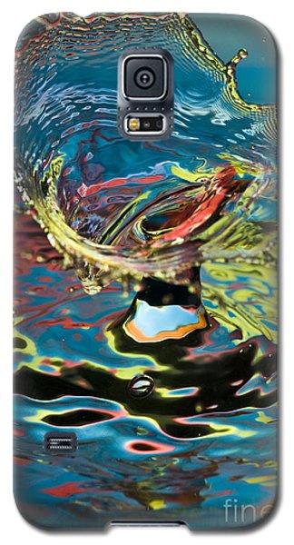 Water Splash Exploding Galaxy S5 Case