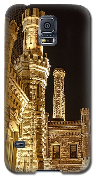 Water Tower At Night Galaxy S5 Case