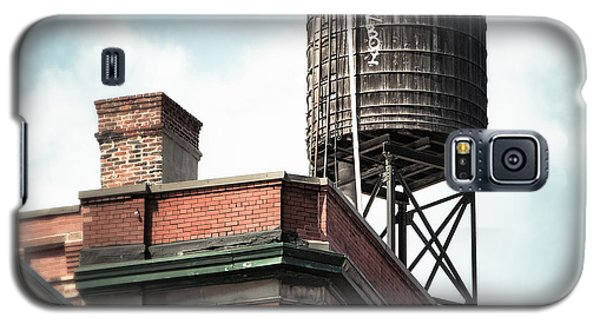 Water Tower In New York City - New York Water Tower 13 Galaxy S5 Case