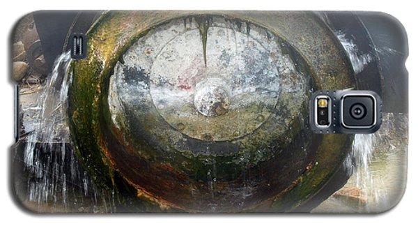 Water Wheel Galaxy S5 Case by Tarey Potter