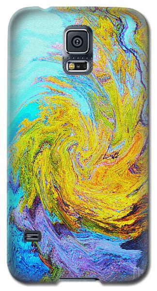 Water Whirl Galaxy S5 Case by Ann Johndro-Collins