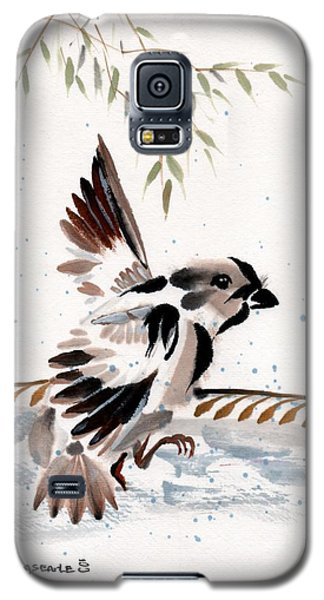 Galaxy S5 Case featuring the painting Water Wings by Bill Searle