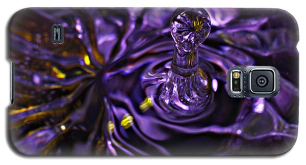 Water Works 01 - The Color Purple Galaxy S5 Case