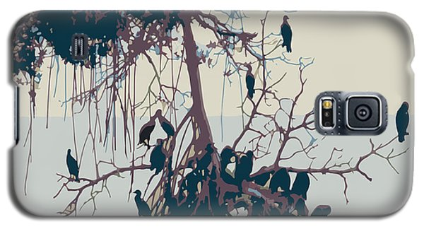Waterbirds1 Galaxy S5 Case by Megan Dirsa-DuBois