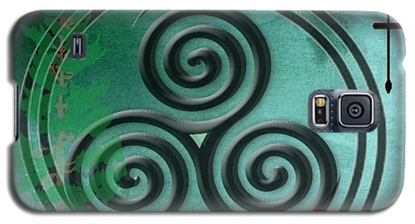 Watercolor Ailim Symbol Galaxy S5 Case by Kandy Hurley