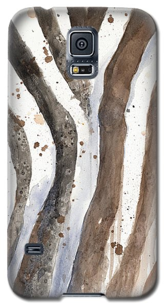Watercolor Animal Skin II Galaxy S5 Case by Patricia Pinto
