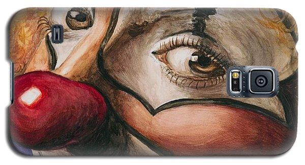 Watercolor Clown #1 Galaxy S5 Case