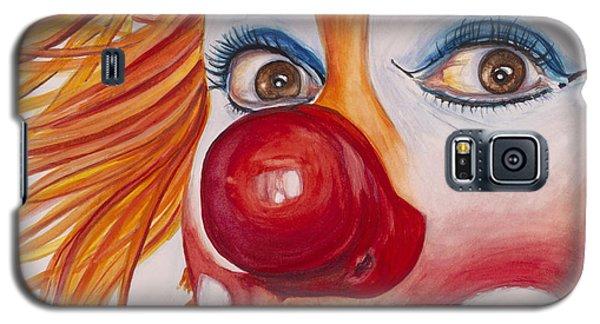 Watercolor Clown #10 Payaso Kiruz Bazo Galaxy S5 Case