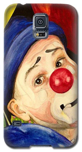 Watercolor Clown #5 Sean Carlock Galaxy S5 Case