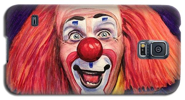 Watercolor Clown #6 Ron Toto Johnson Galaxy S5 Case