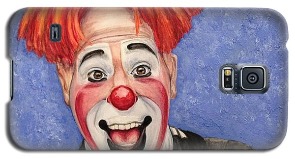 Watercolor Clown #7 Ryan Combs Galaxy S5 Case