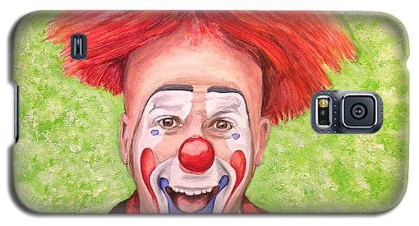 Watercolor Clown #8 Steve Copeland Galaxy S5 Case
