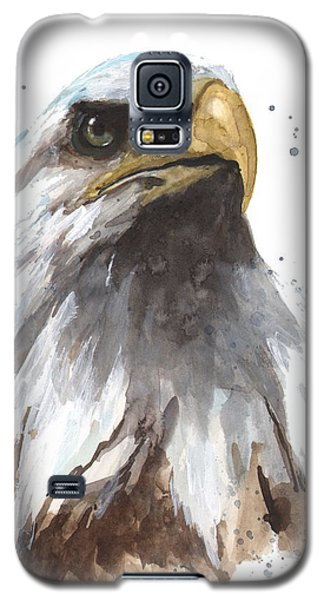 Watercolor Eagle Galaxy S5 Case by Alison Fennell