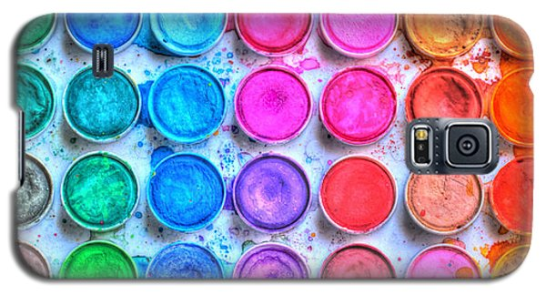 Watercolor Galaxy S5 Case - Watercolor by Heidi Smith