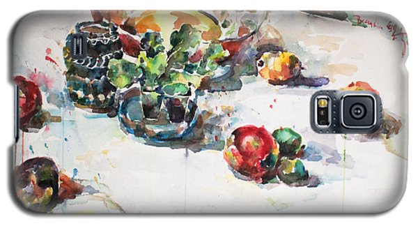 Watercolor Still Life In April Galaxy S5 Case by Becky Kim