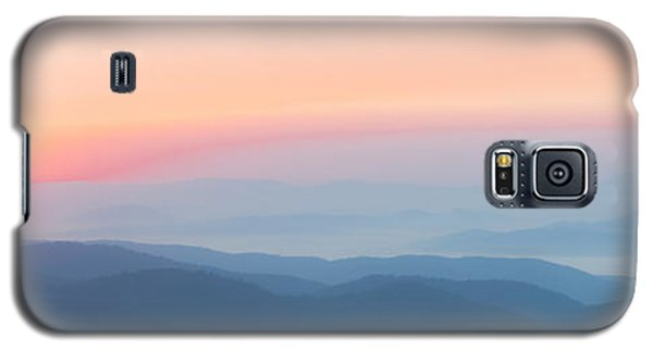 Watercolor Sunrise In The Blue Ridge Mountains Galaxy S5 Case