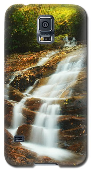 Galaxy S5 Case featuring the photograph Waterfall @ Sams Branch by Photography  By Sai